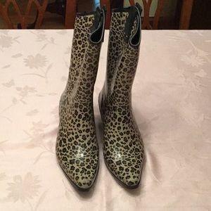 Capelli Cowgirl style rain boots